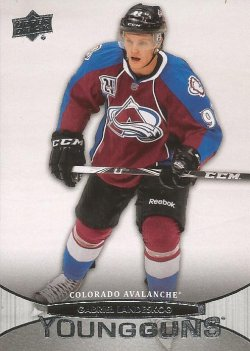2011 Upper Deck Young Guns Gabriel Landeskog
