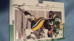 2001 Fleer Genuine Ahman Green