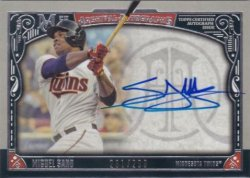 2016 Topps Museum Collection Miguel Sano Auto