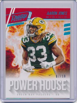Aaron Jones 2020 Prestige Power House Xtra Points Platinum /10