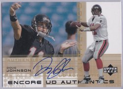 2000  Upper Deck Encore - UD Authentics Doug Johnson