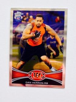 2012 Topps Chrome Dan Herron #113