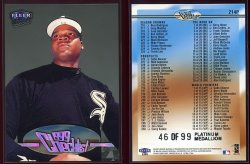 1999  Ultra CL Platinum Medallion  Frank Thomas
