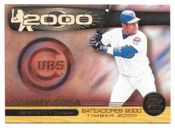 2000  Pacific Crown Collection Timber 2000 Sammy Sosa