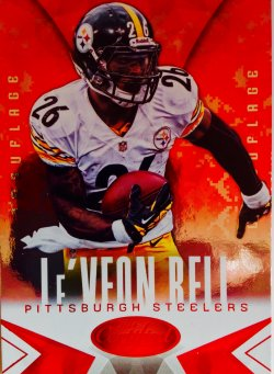 2014 Panini Certified Hot Box Camouflage   LeVeon Bell
