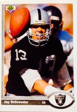 1991 Upper Deck  Jay Schroeder #191