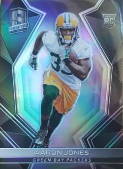 2017 Panini Spectra Aaron Jones Base RC