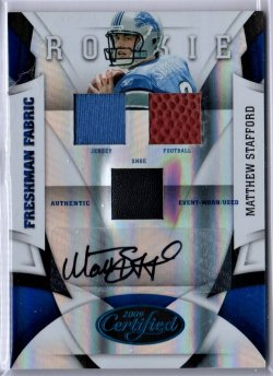 2009 Panini Certified Matthew Stafford