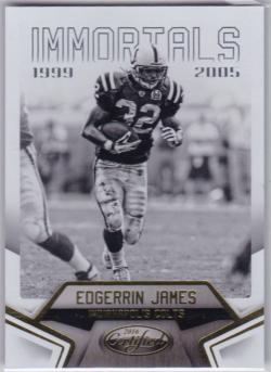 2016 Panini Certified Edgerrin James