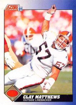 1991  Score Clay Matthews