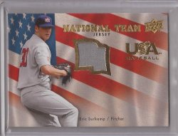 2008 Upper Deck USA National Team Jersey Eric Surkamp