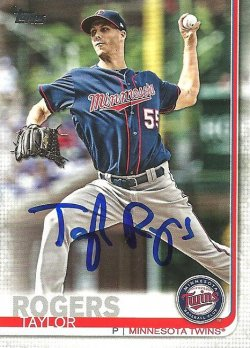 2019 Topps IP Auto Taylor Rogers