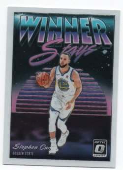 2018-19 Panini Optic Curry, Stephen - Winner Stays