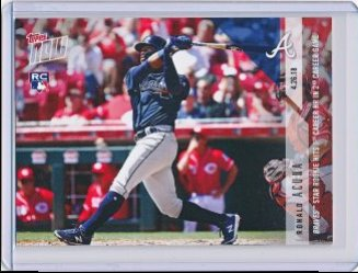 Ronald Acuna 2018 Topps Now RC #129