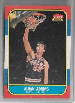 1986-87 Fleer  Alvan Adams