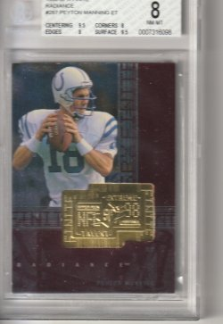 1998 Upper Deck SPx Finite Peyton Manning