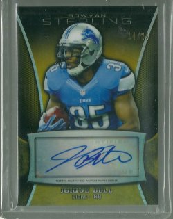 2013 Bowman Sterling Joique Bell - Gold
