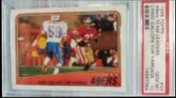1988 Topps  49ers Team Leaders