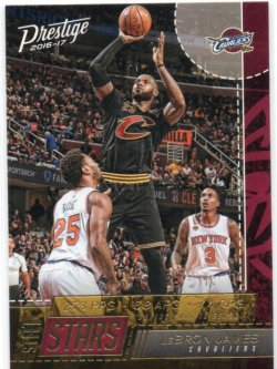 2016-17 Panini Prestige James, LeBron - Stat Stars