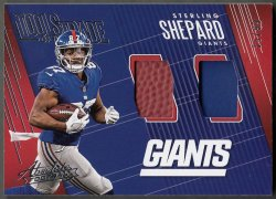 2018  Absolute Tools Of The Trade Dual Materials Sterling Shepard