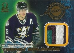 1999/00  Pacific Omega Game Worn Jerseys Selanne