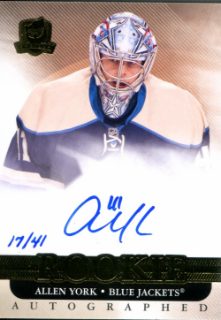2011/12  The Cup Gold Auto Allen York