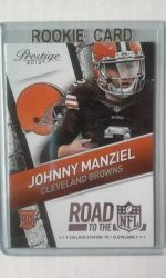 2014 Panini Prestige Road To The NFL Johnny Manziel