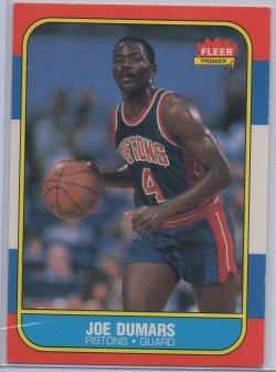 1986-87 Fleer  Joe Dumars