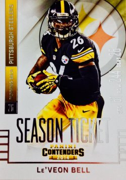 2014 Panini Contenders LeVeon Bell