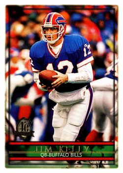 1996  Topps Jim Kelly