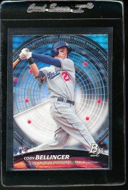 2017 Bowman Platinum Rookie Radar Cody Bellinger