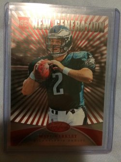 2013 Panini Certified Matt Barkley New Generation (Hot Box Parallel)