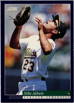1994 Score  Aldrete, Mike