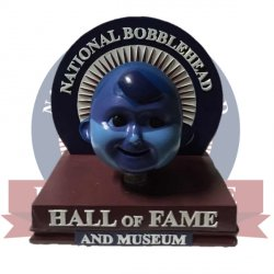 2015  National Bobblehead HOF Bobble Logo
