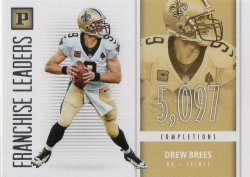 2018 Panini Franchise Leaders  Drew Brees