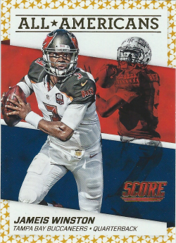 2016 Panini Score All Americans Gold Jameis Winston