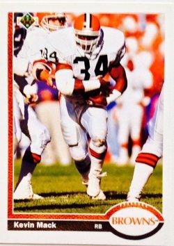 1991 Upper Deck  Kevin Mack #225