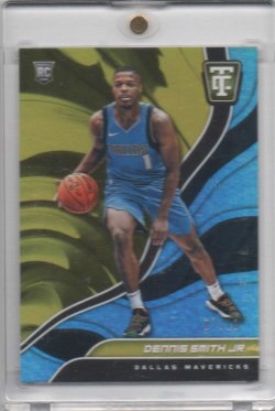 2017 Panini Totally Certified Dennis Smith Gold
