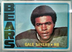 1972 Topps  Gale Sayers