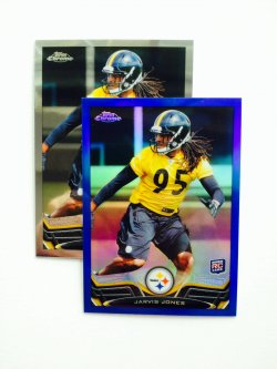 2013 Topps Chrome Blue Refractor Jarvis Jones #31