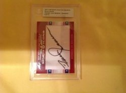 2011 Leaf Sports Icons Cut Signature Bruce Jenner