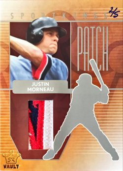 2015  Sportkings Series B Patch Justin Morneau