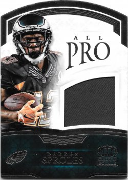 2015 Panini Crown Royale All Pro Materials Darren Sproles