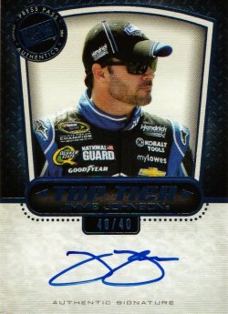 2013 Press Pass  Jimmie Johnson
