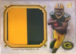 2013 Topps Museum Collection Johnathan Franklin RC Patch
