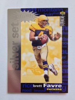 1995 Upper Deck Collectors Choice Silver Set You Crash the Game Brett Favre
