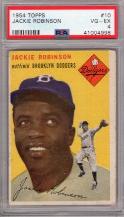 1954 Topps Topps  Jackie Robinson