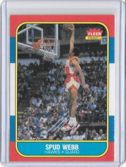 1986-87 Fleer  Spud Webb