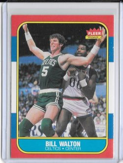 1986-87 Fleer  Bill Walton