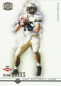 2001  Pacific Dynagon Drew Brees